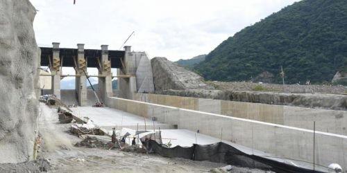 Vertedero de Hidroituango 12 Junio 2018