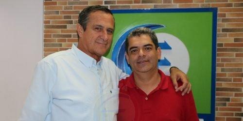 Los comunicadores sociales, Edward Amaya Márquez y Carlos Sepúlveda