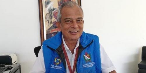 HD--secretario de Desarrollo Agropecuario y Producción Alimentaria, José Edgar Bonilla,
