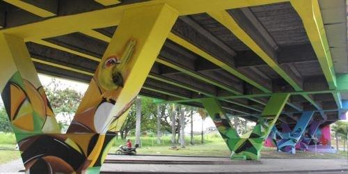 HD- Embellecimiento viaducto del SENA- 17 DE NOVIEMBRE