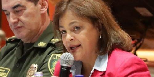 HD-Hilda María Gómez, directora de la Agencia Nacional de Seguridad Vial.