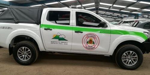 HD- carro de Bomberos Villarrica- 24 enero