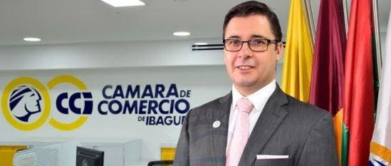 Luis Alfredo Huertas, Cámara de Comercio de Ibagué, 2018
