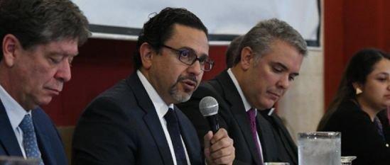 HD- Miguel Ceballos, alto Comisionado con Iván Duque-15 de diciembre