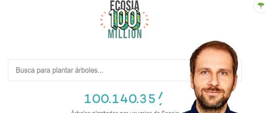 Ecosia buscador sostenible