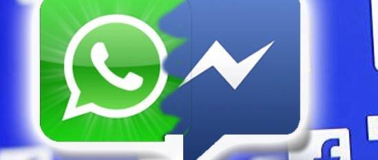 Fusión Facebook WhatsApp Messenger