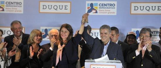 Iván Duque y formula presidencial HD