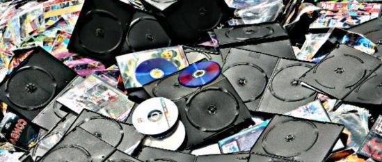 CDs Piratas