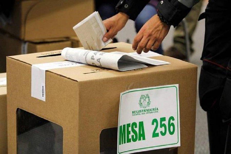 Urna, elecciones 2019 Tolima