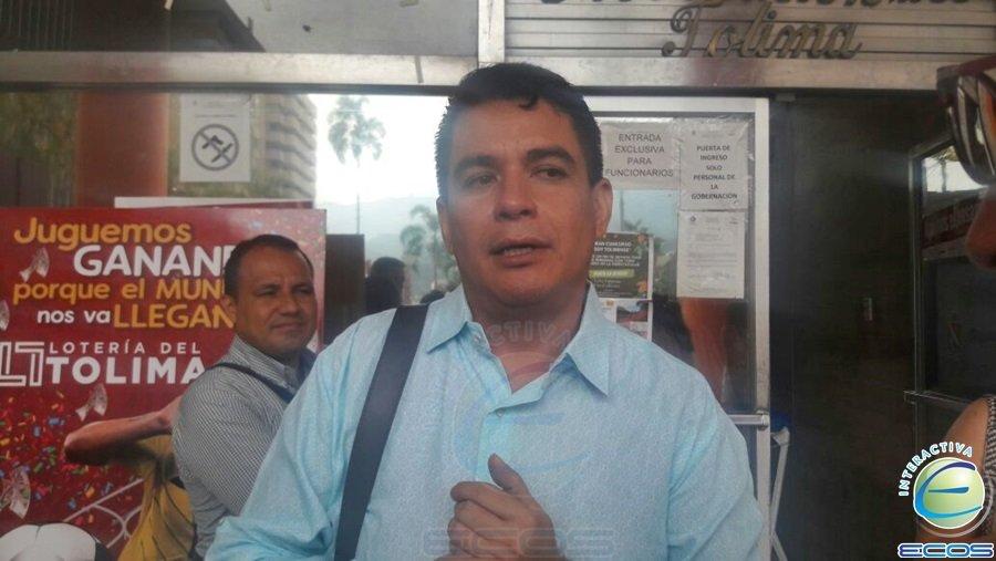 Alcalde de El Espinal, Mauricio Ortiz Monroy