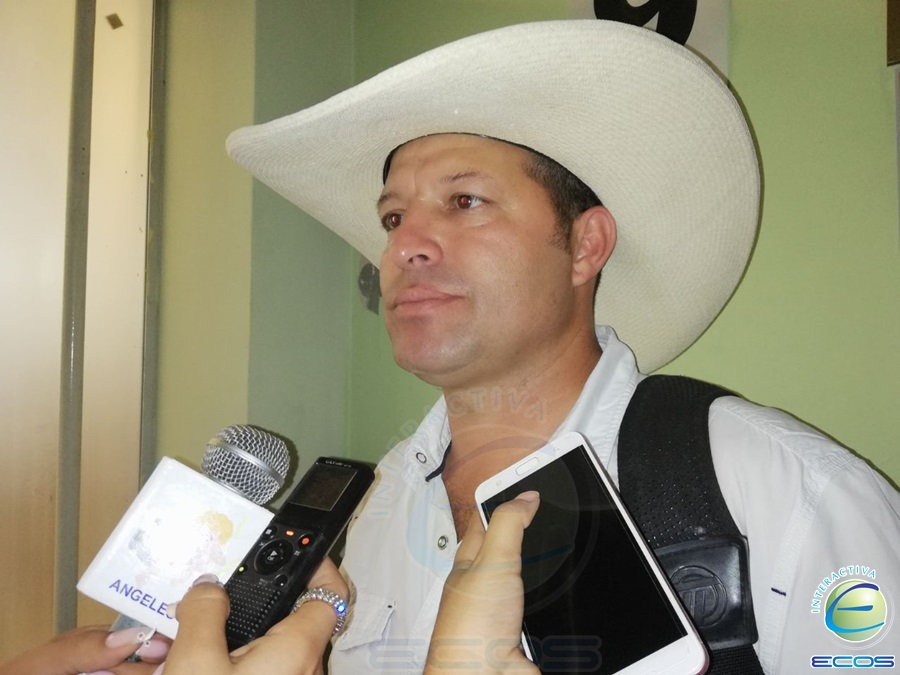 Nondier Arias, alcalde de Herveo