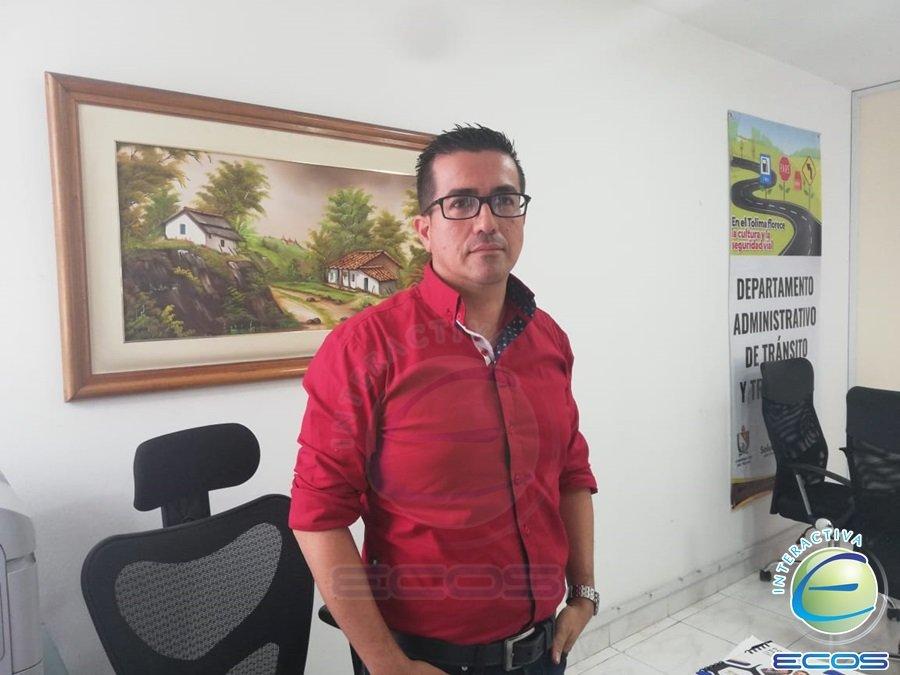 HD-Roger Leyva, director Administrativo de Tránsito Tolima