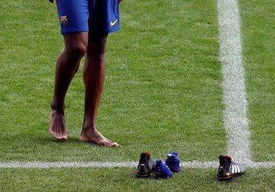 Yerry Mina es oficialmente jugador del Club Barcelona